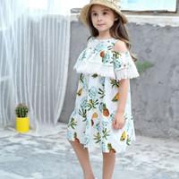 BabyYuan Dress import anak/Bohemian dress/Summer dress/baju import