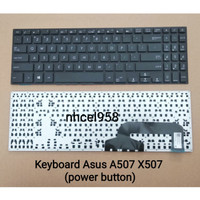 Keyboard Asus A507 Power Button Numeric