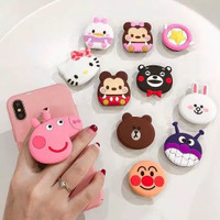 PTT POPSOCKET 3D KARAKTER 3D CARTOON POPSOCKET RING HP POPSOCKET PVC