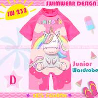 baju renang unicorn Jw 232 D