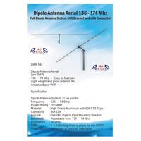 Antena Rumah VHF Amatir Radio 2m 136-174Mhz Rapi Orari HT RIG 2 Meter