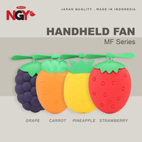 Kipas Angin Genggam NAGOYA MF Rechargeable Mini Portable Hand Fan NGY
