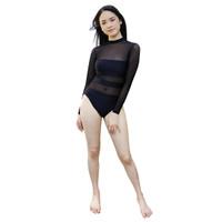 Lasona Women Swimwear Baju Renang Wanita Tangan Panjang SW-C3299-I0094