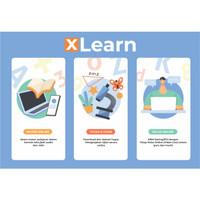 Aplikasi XLearn untuk eLearning, BDR - PJJ - Ujian Online