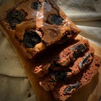 Dark Chocolate Cake with Prunes