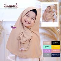 Jilbab Anak Terbaru Usia 3-10 tahun Kerudung Anak Hijab Anak GO MASK