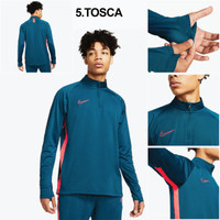 Baju Training Lengan Panjang Kaos Sepeda Nike Dry Fit Strike Drill Gym