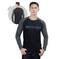 T-Shirt Raglan Pria KLX KZR 896