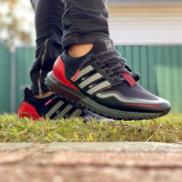 Sepatu Adidas Ultraboost All Terrain Black Red - Premium Import
