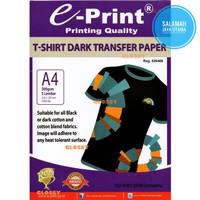 e-Print T-Shirt Transfer Paper Dark A4
