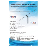 Antena Aviation Airband VHF 118-136 Mhz , Receive and Transmit