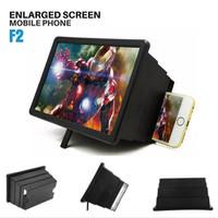 Enlarged Screen F2 Pembesar Layar HP F2 Mobile Phone Cinema