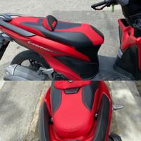 kulit jok custom modifikasi Vario 150 / 125 . aksesoris motor