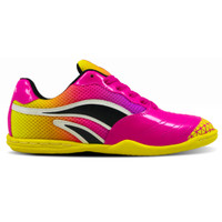 Sepatu Fans Zico P - Sepatu Futsal Pink Kuning - 36
