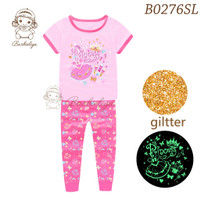 Baju Tidur Anak Perempuan PAJAMAS PINCESS Glow In The Dark PJMS367-07