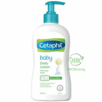 CETAPHIL Baby Daily LOTION Face & Body with Shea Butter 400ml