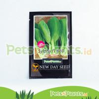 Bibit Sawi Hibrida Dwarf Pak Choy Sylphy F1 New Day Seed Original Pack