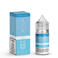 Salt Nic Aqua RUSH 35mg Menthol Sweet Blue Raspberry Saltnic 30ml Vape