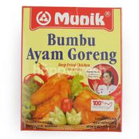 munik deep fried chiken seasoning 150gr   bumbu ayam goreng
