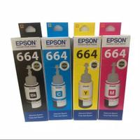 Tinta Epson 664 Printer L100/L110/L210/L220/L350 - Hitam