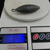 Bandul pancing Timah J 150g