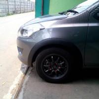 diskon Over fender Datsun go model polos 1 set