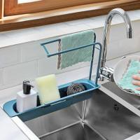 Rak Penyimpanan Spon Dapur kain lap 987A Rak Wastafe / sink flexible