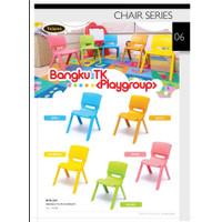 Kursi Chair Bangku Anak Kecil Sekolah Plastik Plastic Tempat Duduk