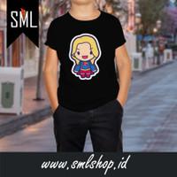 Koas / Tshirt / Atasan / Baju Anak - Supergirl 001 Super Hero DC