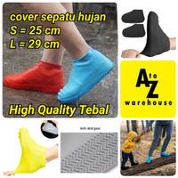 Jas Hujan Sepatu Cover Anti Air Cover Sepatu Waterproof Anti Licin