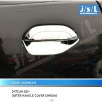 JSL Mangkok Pintu Datsun Go Outer Handle Cover Chrome