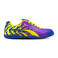 Sepatu Fans Xavi BL - Sepatu Futsal Biru Kuning - 39