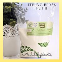 Tepung Beras Putih Lingkar Organik 500 gr Untuk MPASI bayi