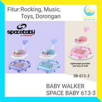 Baby walker space baby SB 613-3 alat belajar jalan