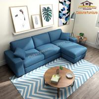 Sofa L Santai Free Coffee Table
