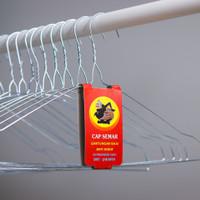 Hanger/Gantungan Baju Kawat stainless besi anti karat CAP SEMAR