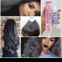 L'oreal majifashion 12.11 ash grey abu-abu silver hair