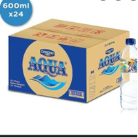 Aqua 600ml 1ktk(24) (Grab)Medan