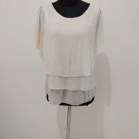 st ives baju atasan kerja wanita putih blouse dalaman blazer semi resm