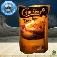 Saus keju euro gourmet/sauce keju/keju cair/saus nachos 500 gram