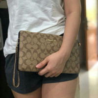Dompet handbag/clutch coach 2in1 import