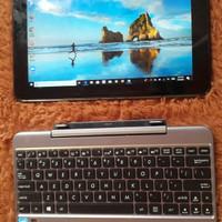Laptop asus transformer T101Ha layar sentuh