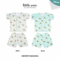 Little Palmerhaus - Mickey Banana Little Wear Short Sleeve (Baju Bayi)