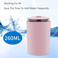 Pelembab Udara Mobil Air Humidifier Aromatherapy Diffuser 260ML