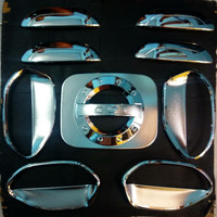 Paket Outer Cover Handle Dan Tutup Bensin Datsun Go Chrome