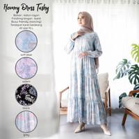 Baju Gamis Wanita Terbaru Katun Rayon Home Dress Daster Panjang Muslim
