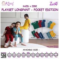 Kazel Playset Longpants Pocket Edition 1-11Thn Mustard