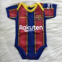 baju bayi bola barcelona jumper