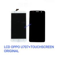 LCD OPPO U707 FULLSET + TOUCHSCREEN ORIGINAL ( FIND WAY S ) - Putih
