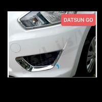 Datsun Go Fog lamp cover garnish list chrome chrom HQ
